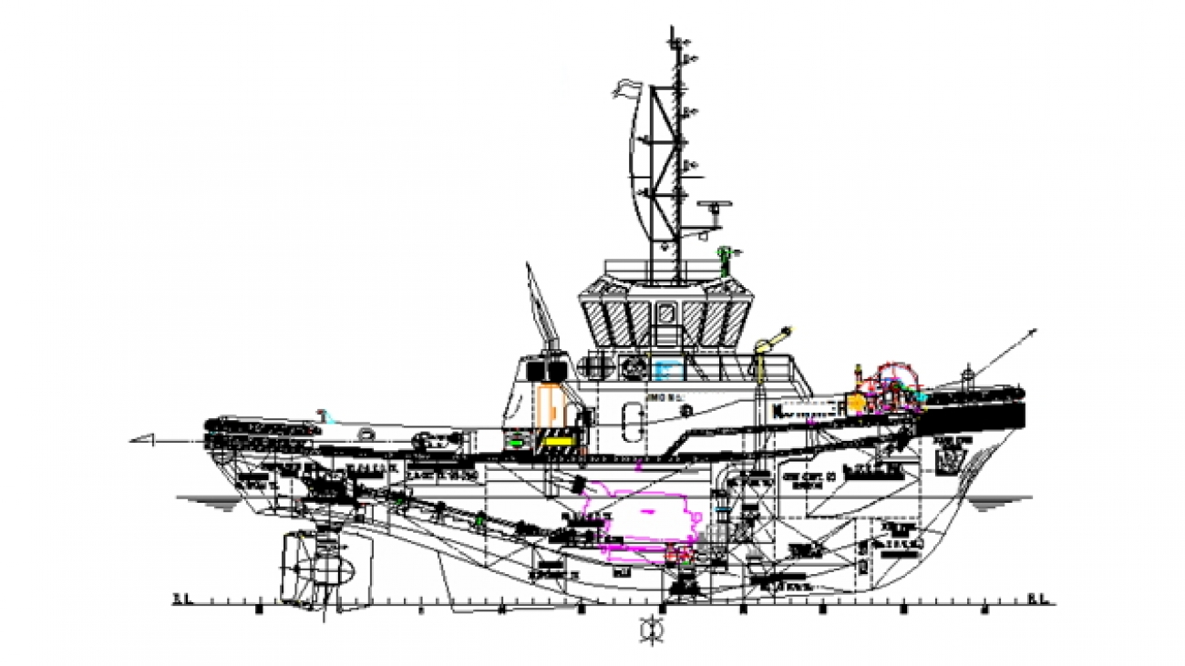 5200PS HANDYSIZE ASD TUG FOR SALE - NEW BUILT