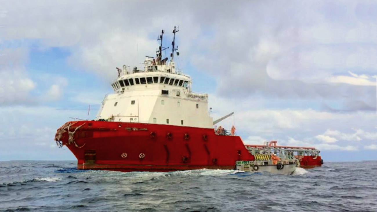 58M DP2 Platform Support Vessel - Diesel Electric for Sale