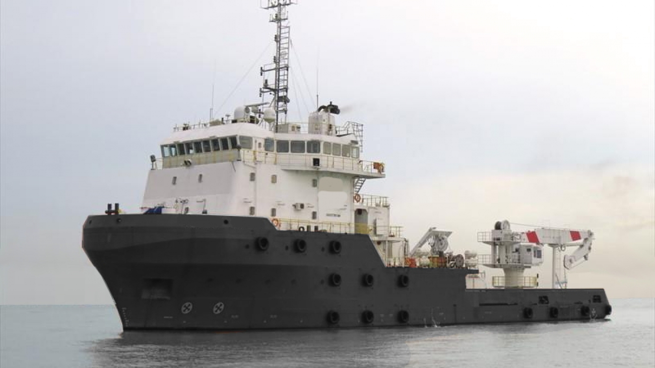 65m DP2 5000bhp ROV Survey IMR Dive Accommodation Vessel for Sale