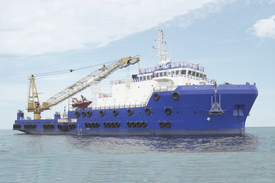 74M Accommodation Work Vessel for Sale