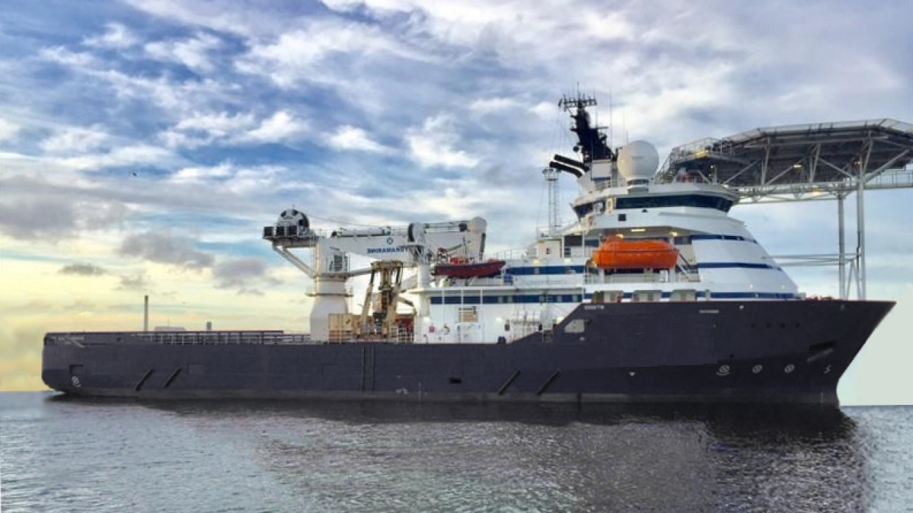 84M DP2 IRM Survey ROV Vessel for Sale
