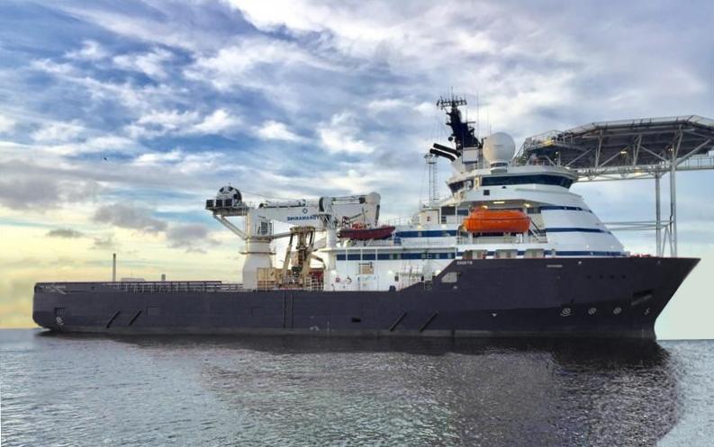 84M DP2 IRM Survey ROV Vessel for Sale