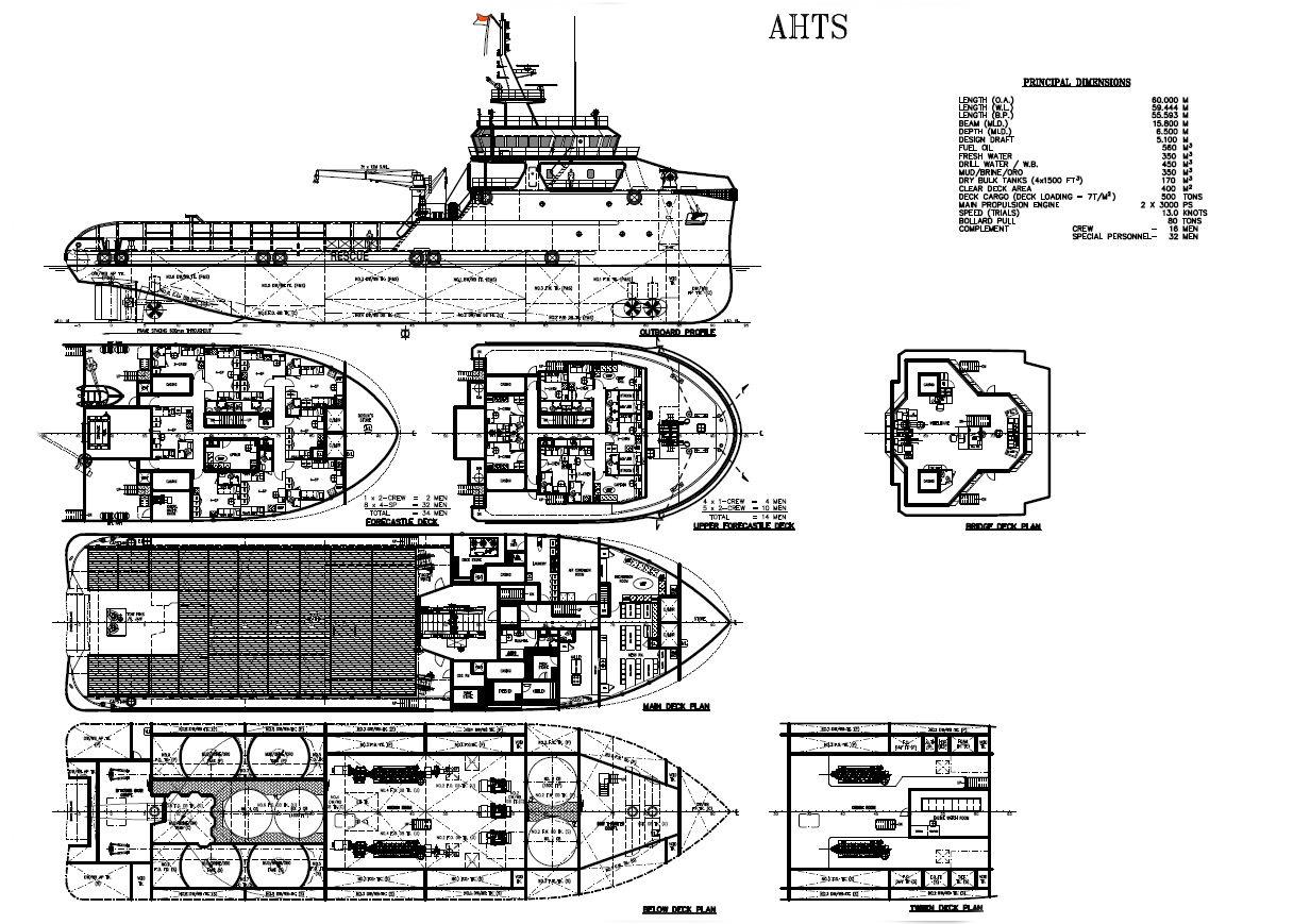 65M DP2 AHTS 91t BP for Sale File CH-0621