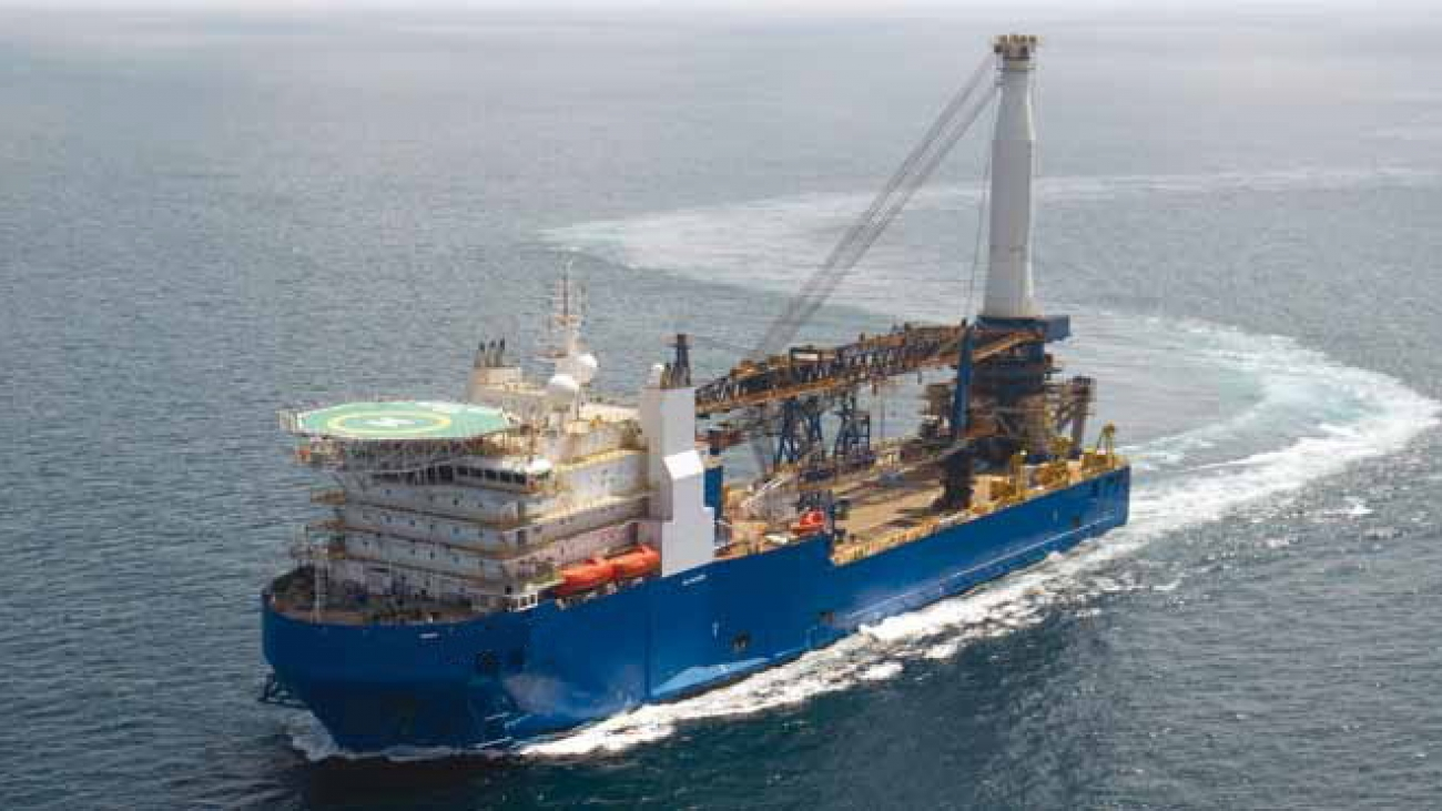 DP2 Heavy Lift and Pipelay Vessel for Sale