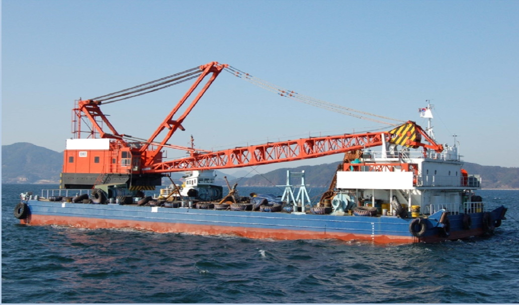 200t Crane Barge for Sale or Charter